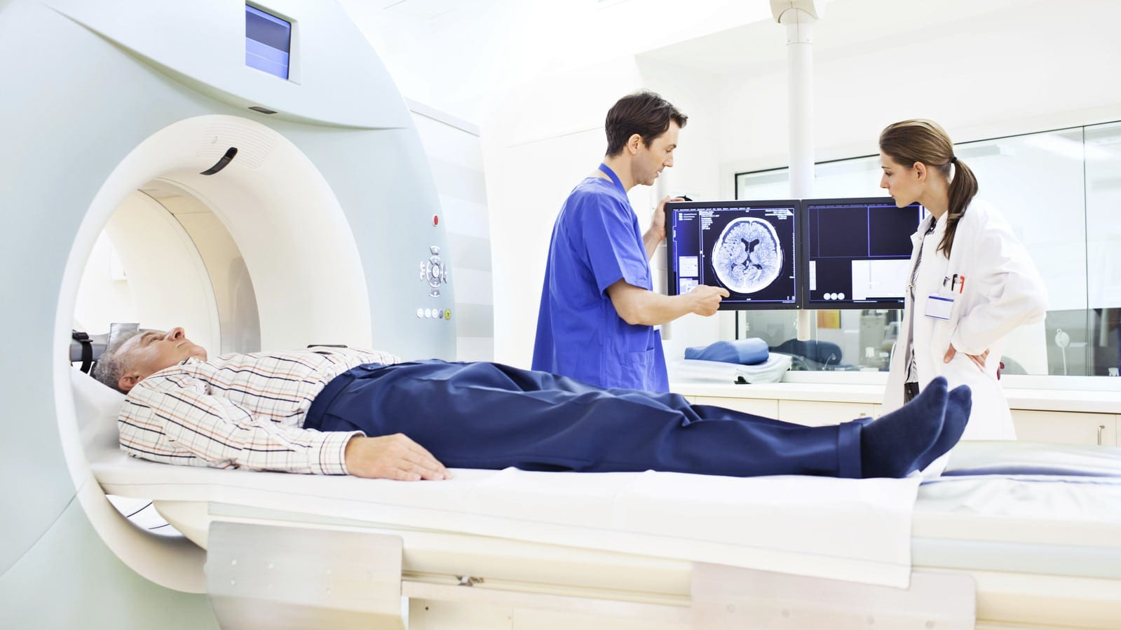 MRI Scan Stock Photo