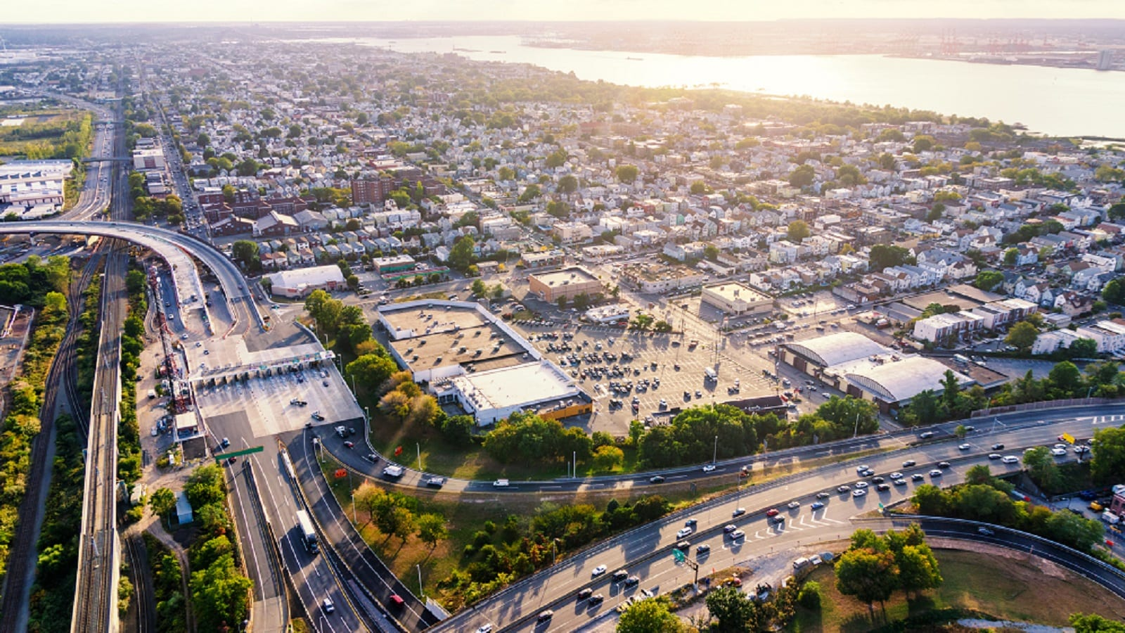 Bayonne, New Jersey Aerial Photo